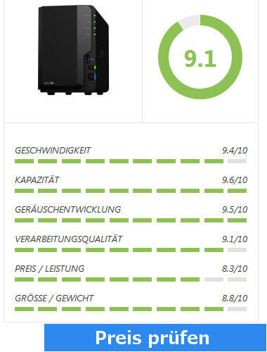 Synology-218+Test