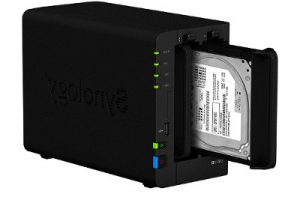 Synology_DS218+Fesplatte